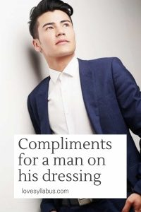 Compliments for Man