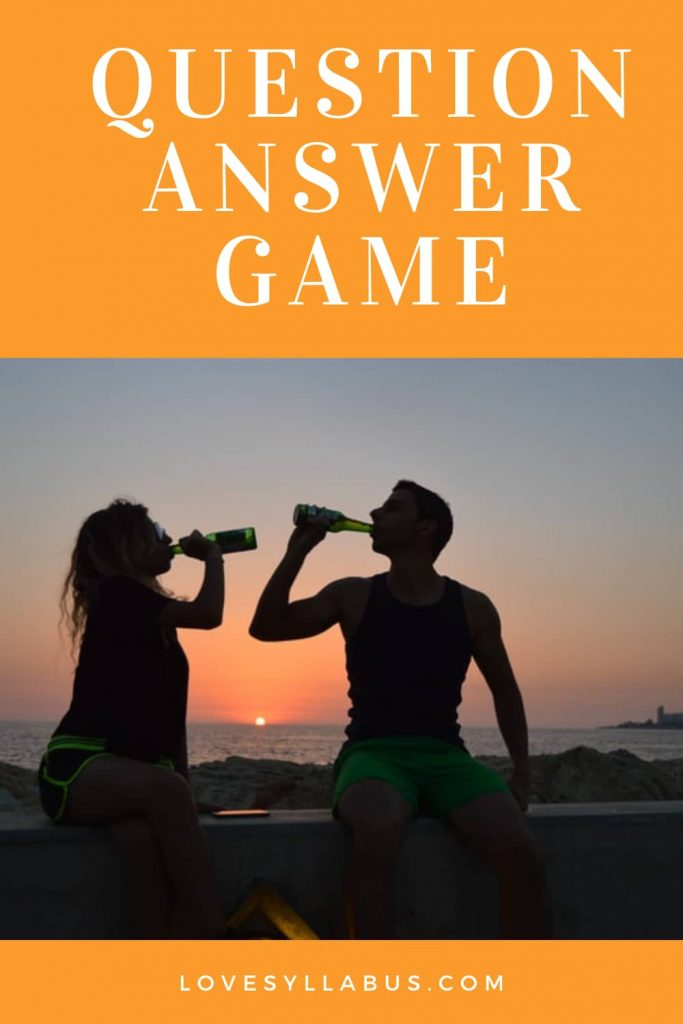 question & answer game
