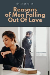 Signs He is Falling Out of Love