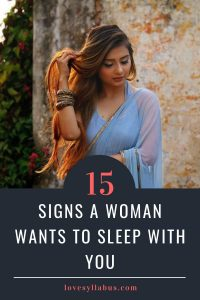 Woman Wants to Sleep With You