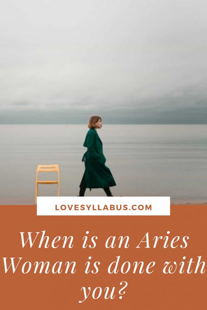 Aries Woman becoming Distant