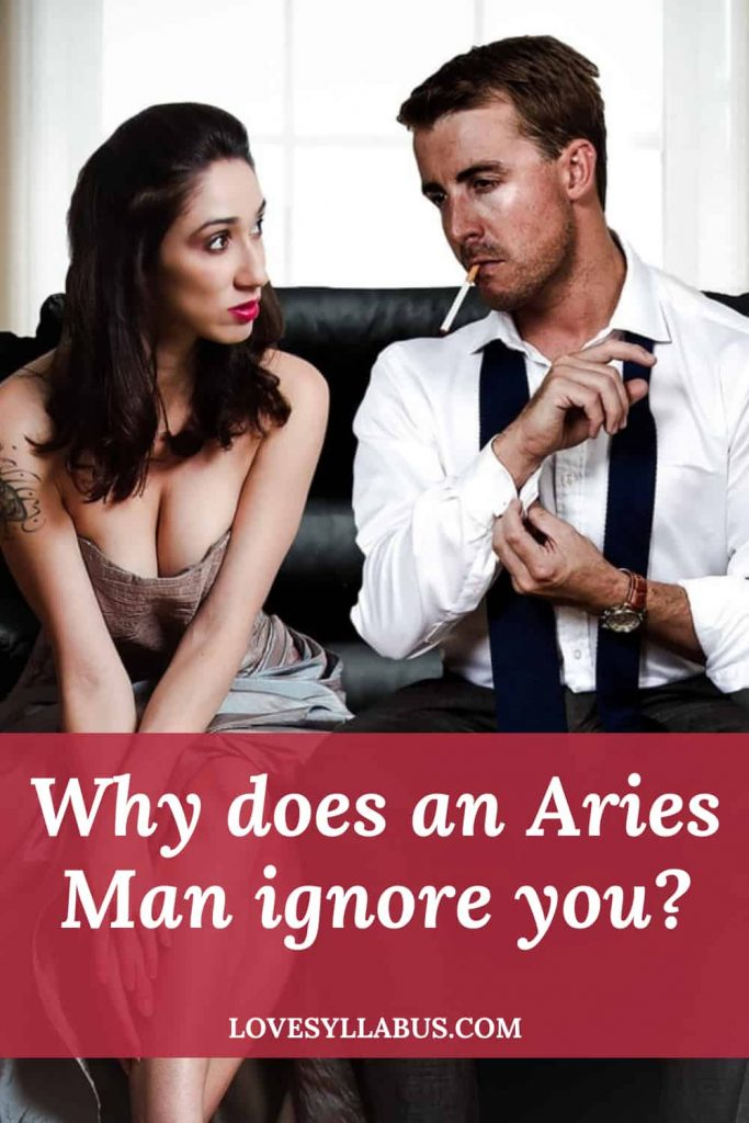 Aries Man Becoming Distant