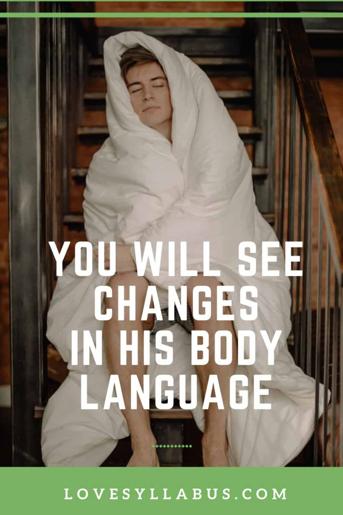changes in body language