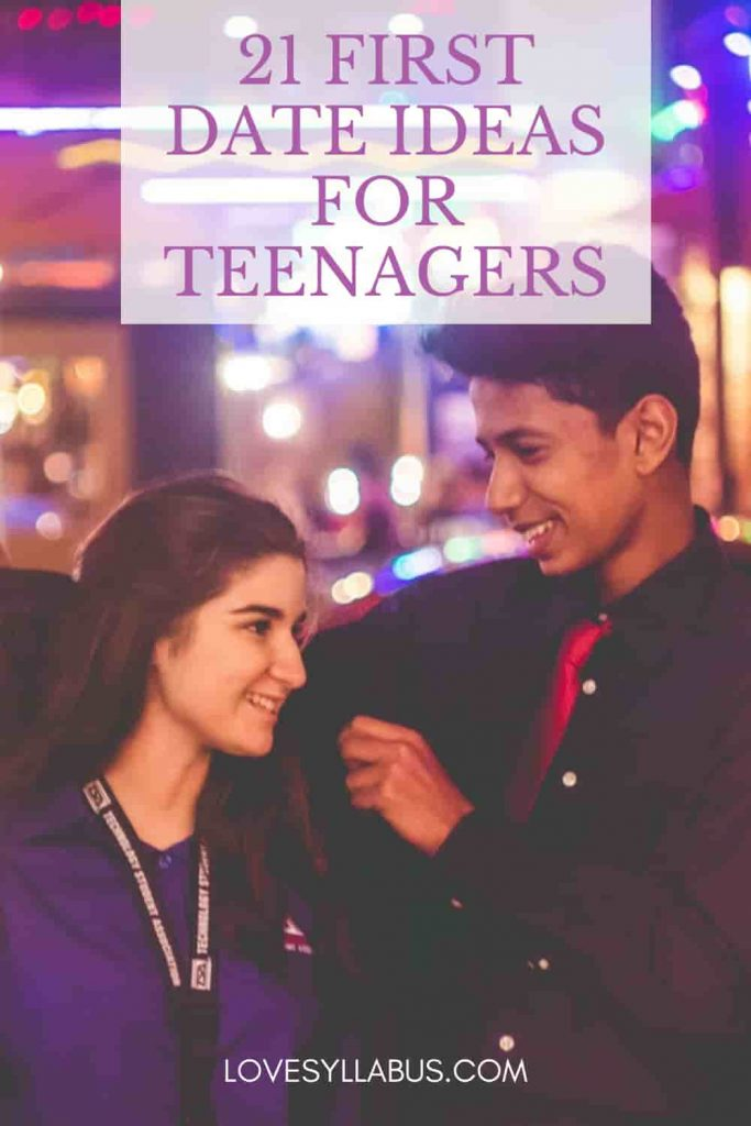 First Date Ideas for Teenagers