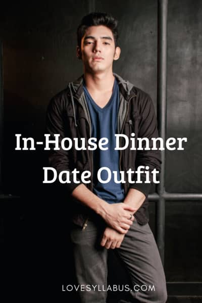In house dinner date outfit