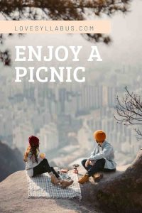 enjoy a picnic