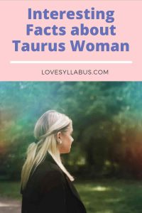 facts about Taurus woman