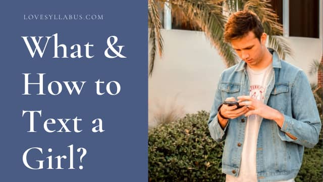 what to text