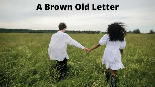 Brown letter