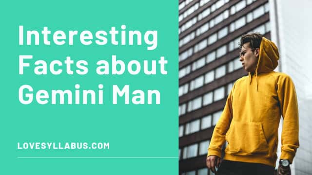Interesting facts about Gemini man
