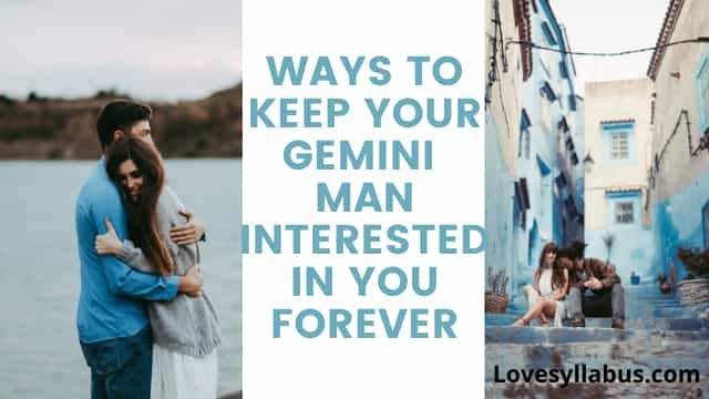 signs a gemini man interested in you