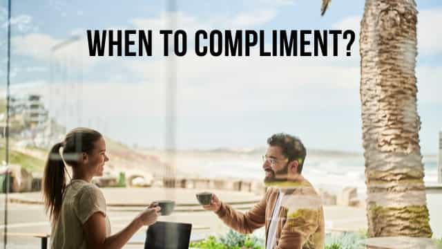 handle situations with compliments
