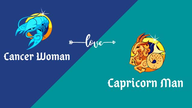 Cancer Woman with a Capricorn man