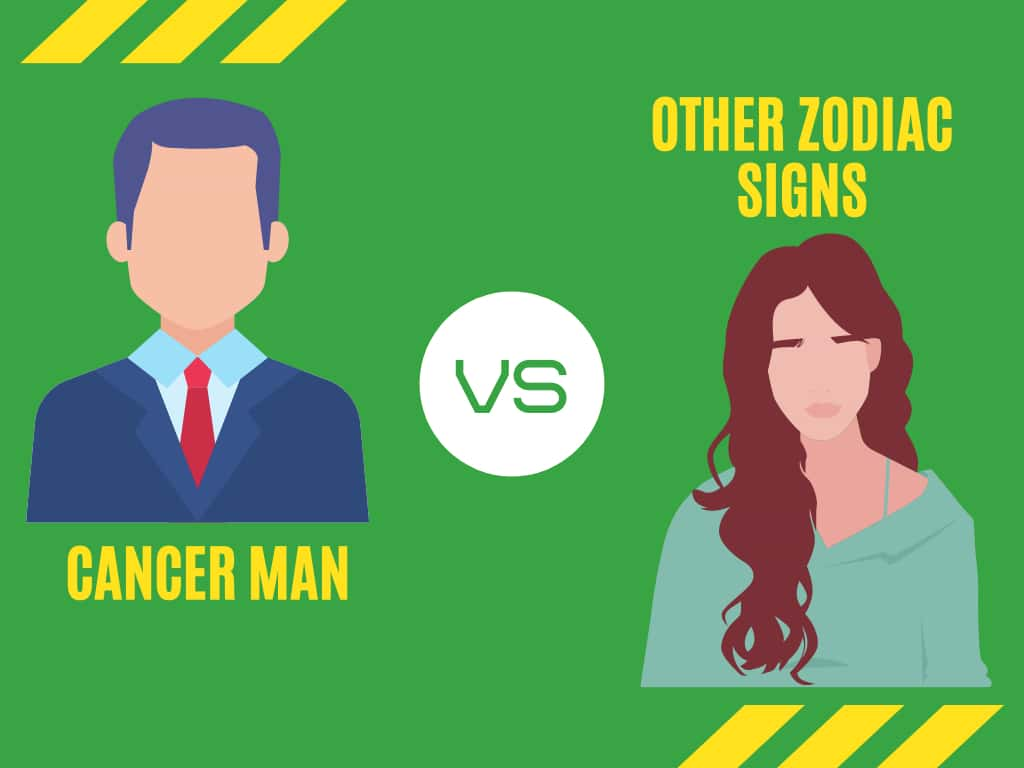 Zodiac Sign Compatibility of a Cancer Man for Love & Marriage