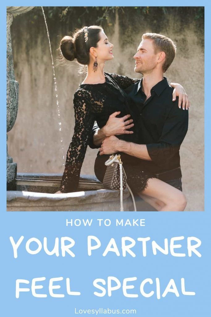 make y our partner feel special