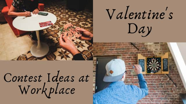 Valentine's Day contest idea at the workplace