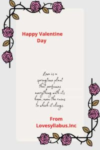 valentine day email for office