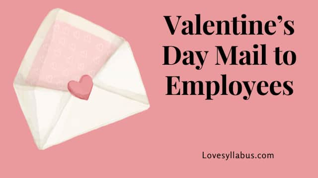 What to mail to employees
