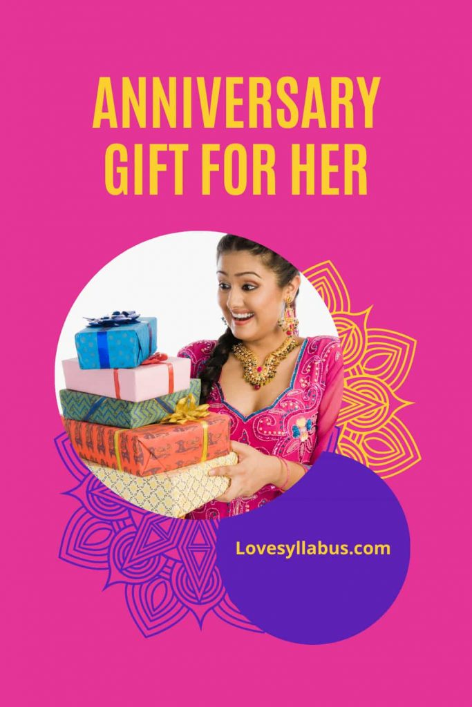 anniversary gift ideas for her