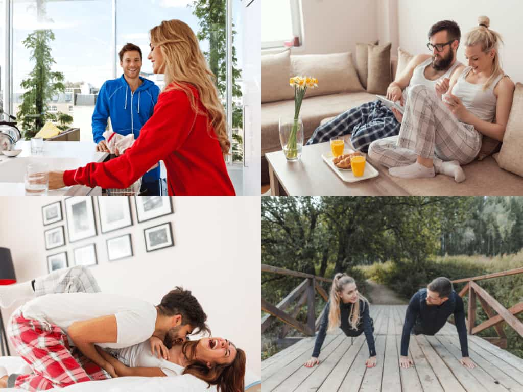 Effective Morning Habits Of Romantic Couple To Start The Day With