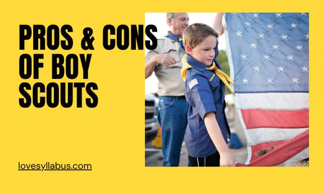 Pros & cons of boy scouts