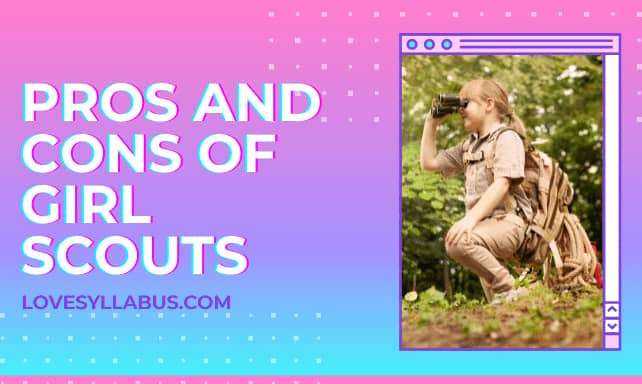 Pros & cons of girl scouts